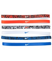 Nike Printed Headbands Assorted (6 Pack)