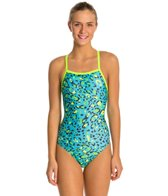 Speedo Flipturns Speedah Cheetah Propel Back Women's Swimsuit