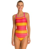 Speedo Flipturns Geo Genie Propel Back Women's Swimsuit