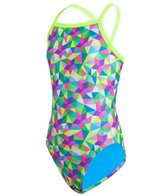 Speedo Flipturns Star Spangled Propel Back Youth Swimsuit