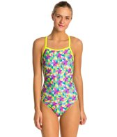 Speedo Flipturns Star Spangled Propel Back Women's Swimsuit