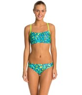 Speedo Flipturns Speedah Cheetah Two Piece Swimsuit