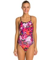 Speedo Turnz Bug Off Tie Back Swimsuit