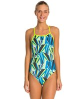 Speedo Turnz Build Me Up One Back Swimsuit