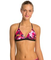 Speedo Turnz Bug Off Triangle Tie Back Swimsuit Top