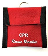 LINE2Design Lifeguard CPR Keychain Kit With Faceshield