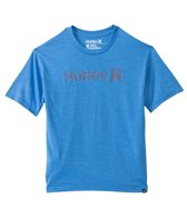 Hurley Boys' Solid One & Only Push Through S/S Tee (8yrs-16yrs)