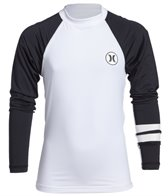 Hurley Boys' Icon Long Sleeve Rashguard (8yrs-16yrs)