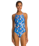 Dolfin Uglies Happy Feet V-2 Back One Piece Swimsuit