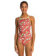 Dolfin Uglies Frosty Mitten V-2 Back One Piece Swimsuit