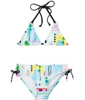 Seafolly Girls' Pool Party Slide Trikini Two Piece (8yrs-14yrs)