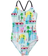 Seafolly Girls' Pool Party Tank One Piece Swimsuit (8yrs-14yrs)