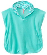 Seafolly Girls' Spring Bloom Hanalei Hoodie Towel Cover Up (2yrs-6yrs)