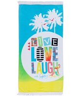 Seafolly Girls' Live Love Laugh Towel