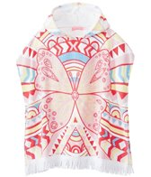 Seafolly Girls' Jewel Cove Poncho Cover Up (2yrs-6yrs)
