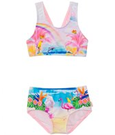 Seafolly Girls' Rainbow Chaser Tankini Two Piece (2yrs-6yrs)