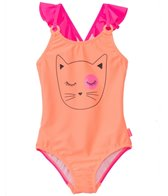 Seafolly Girls' Memphis Meow Tank One Piece Swimsuit (2yrs-6yrs)