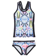 Seafolly Girls' Galaxy Bliss Tankini Set Two Piece (8yrs-14yrs)