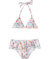 Seafolly Girls' Seaside Lane Bikini Set (1yr-6yrs)