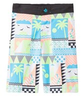 Tiger Joe Boys' Hang 5 Retro Rider Boardshort (2yrs-10yrs)