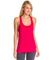 Beyond Yoga Sleek Stripe Split Racer Tank