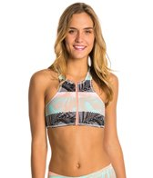 Roxy Pop Surf Crop Halter Top