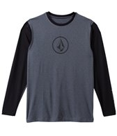 Volcom Men's Heather Long Sleeve Surf Tee