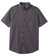 Volcom Men's Pulaski Short Sleeve Button Up Shirt