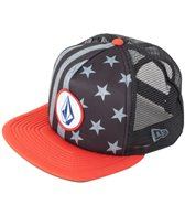 Volcom Men's Bar Star Cheese Hat