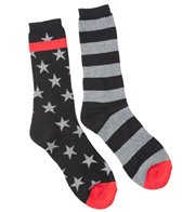 Volcom Men's Bar Star Sock