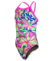 Waterpro Pom Poms Youth One Piece Swimsuit