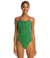 Nike Flow Cut Out Tank One Piece Swimsuit