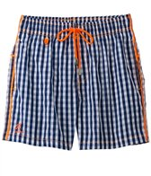 Ramatuelle St. Barth Checkered Swim Trunk