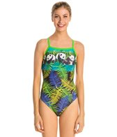 Waterpro Pandamonium Thin Strap One Piece Swimsuit