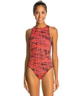 Nike Blaze High Neck Tank Water Polo One Piece Swimsuit
