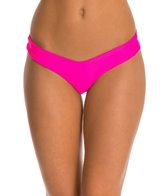 Stone Fox Swim Solid Tucker Bikini Bottom