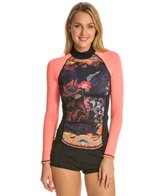 Girls4Sport Bali L/S Rashguard with Shelf Bra