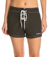 Girls4Sport Women's Solid Snag Free Short Board Shorts