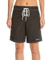 Girls4Sport Women's Solid Snag Free Long Board Shorts