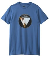 Quiksilver Men's I Get Around CA Short Sleeve Tee