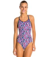Funkita Stripe Delight Diamond Back One Piece Swimsuit