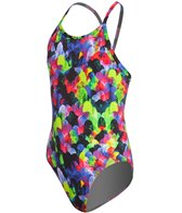 Funkita Mystic Mermaid Girls Diamond Back One Piece Swimsuit