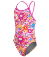 Funkita Flower Power Girls Single Strap One Piece Swimsuit