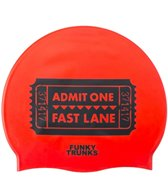 Funky Trunks Fast Lane Silicone Swim Cap