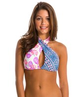 ONeill Swimwear Coast To Coast Wrap Halter Bikini Top