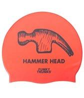 Funky Trunks Hammerhead Silicone Swim Cap