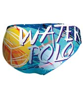 Keel Men's WP Painting Water Polo Brief