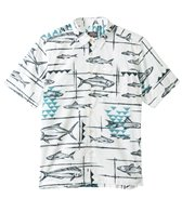 Quiksilver Waterman's Reelin Short Sleeve Shirt