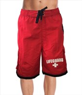 Beach Lifeguard Men's Lifeguard Performance Active Board Short
