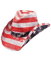 Peter Grimm Men's Patriot Drifter Cowboy Hat
